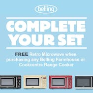 Free Belling Retro Microwave!