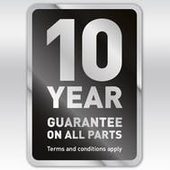 Hotpoint 10 Year Parts Guarantee!