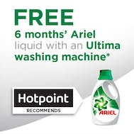 6 Months FREE Ariel With Hotpoint!