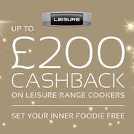 Up To £200 Cashback From Leisure!