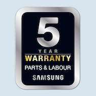 Samsung 5 Year Warranty On Home Appliances
