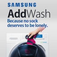 Samsung AddWash No Washing Left Behind