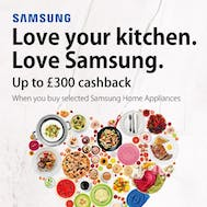 Up To £300 Cashback With Samsung!