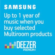 Up To 1 Years Free Music With Samsung!