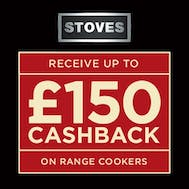Up To £150 Cashback With Stoves!