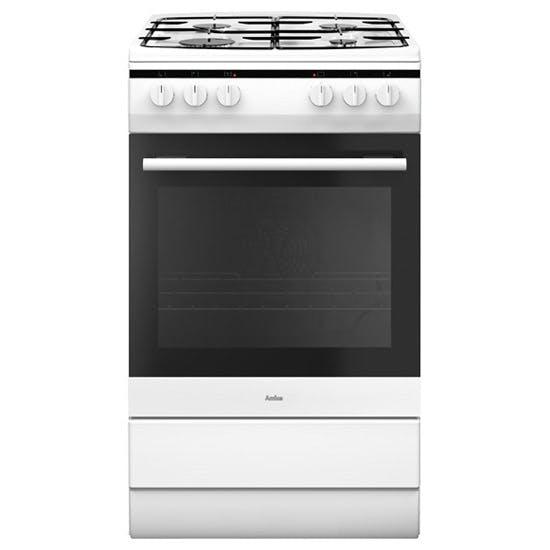 Amica 508GG5W 50cm Gas Cooker in White, 2yr Warranty FSD A ...