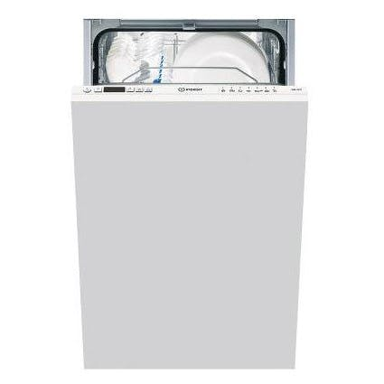 indesit disr14b1 45cm fully integrated dishwasher in white 10 place. Black Bedroom Furniture Sets. Home Design Ideas