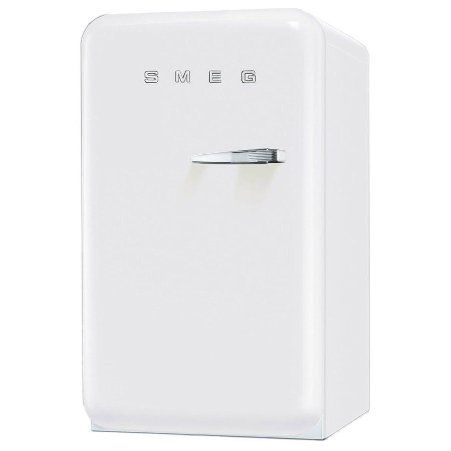 Smeg Fab10lb 55cm Small Retro Fab Fridge Ice Box In White