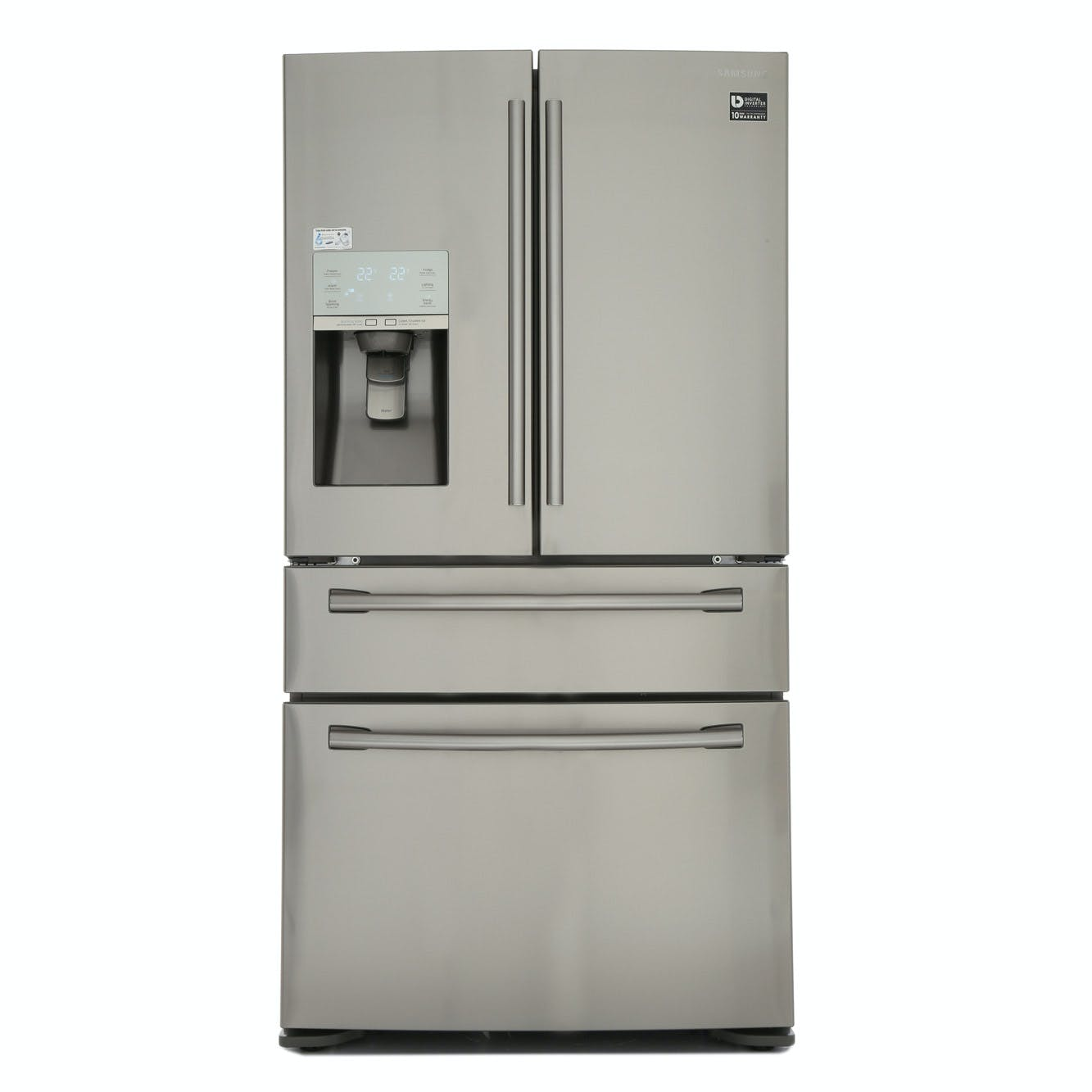 samsung rf24hsesbsr french style 4 door fridge freezer in. Black Bedroom Furniture Sets. Home Design Ideas