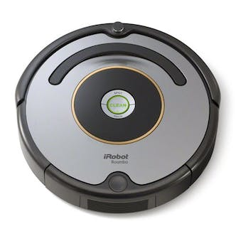 irobot roomba 616 advanced roomba robot vacuum cleaner in silver black. Black Bedroom Furniture Sets. Home Design Ideas