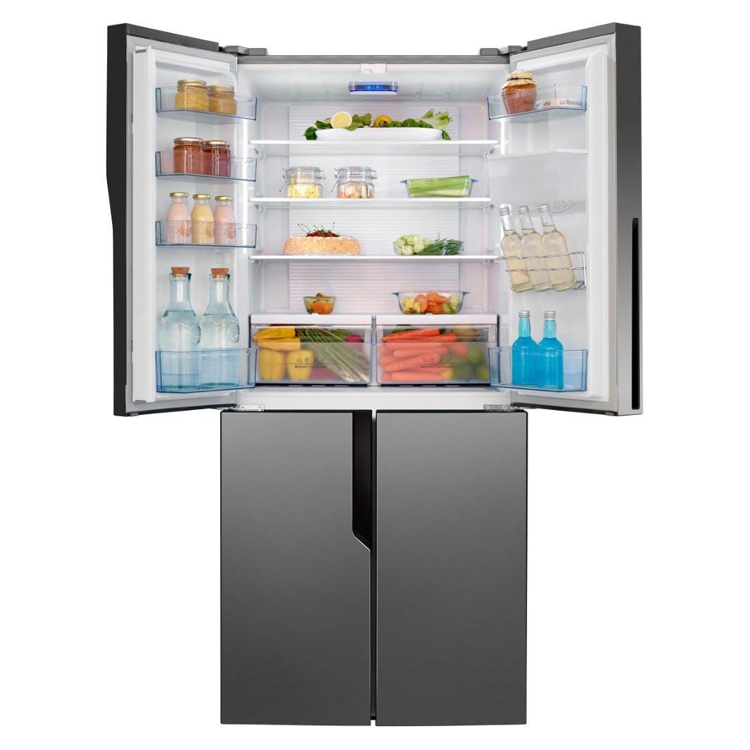 Hisense Rq560n4wc1 American Style Four Door Fridge Freezer