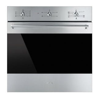 Smeg Sf6341gvx 60cm Built In Gas Fan Oven With Electric