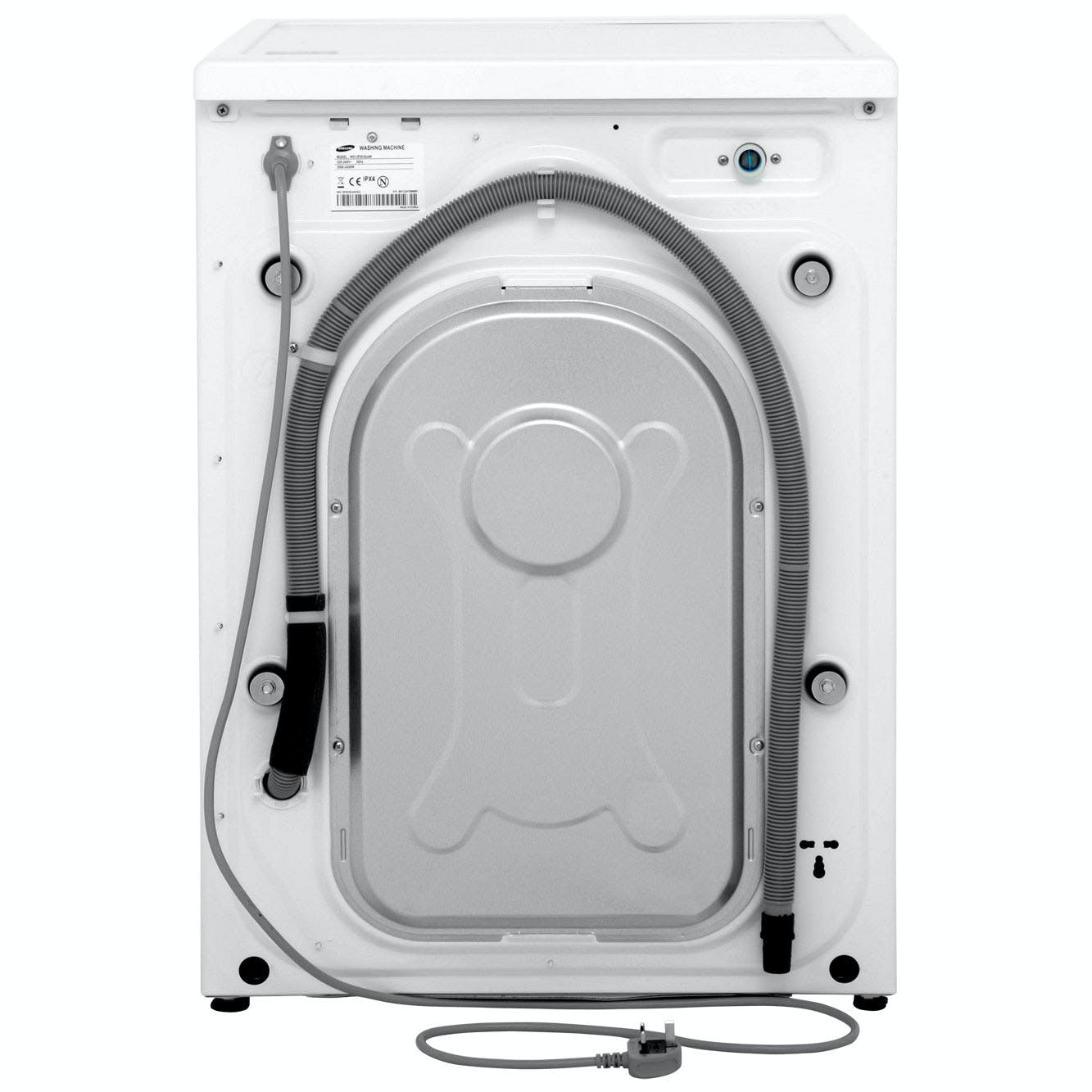 samsung wd12f9c9u4w eco bubble washer dryer in white 1400rpm 12kg 8kg. Black Bedroom Furniture Sets. Home Design Ideas