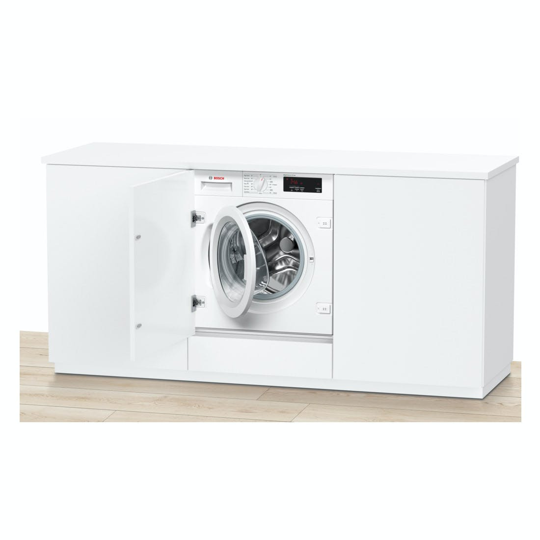 bosch wiw28300gb serie 6 integrated washing machine 1400rpm 8kg a